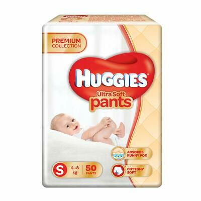 Huggies Ultra Soft Pants Diapers, Small Pack  (4 - 8 kg) with Free Shipping