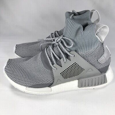 dc17fbcca Adidas NMD XR1 Winter Grey White PK Boost Mens Size 8.5 BZ0633 Brand New