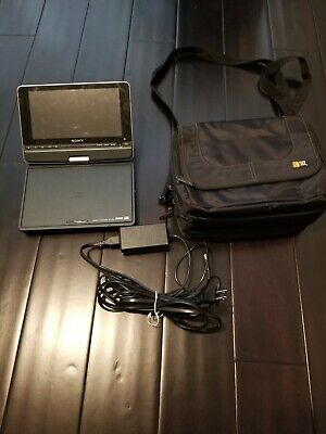 "Sony 8"" Portable CD/DVD Player Model DVP-FX810 with CASE"