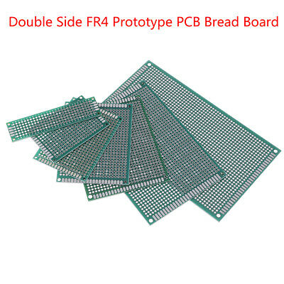 5/10Pcs prototype PCB bread board tinned universal double side FR4 2x8cm -9x15HD