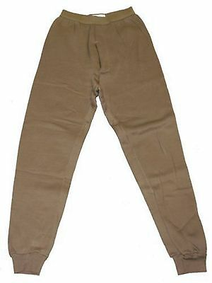 ONE PAIR Cold Weather Drawers Pants Long Johns Polypropylene Coyote Brown NIP XL