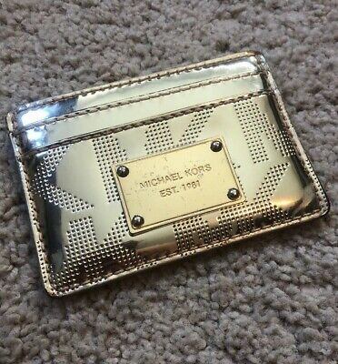 c07bf4a3d1c1 MICHAEL KORS KEYCHAIN Coinpurse Card Holder Gold CUTE! - $15.00 ...