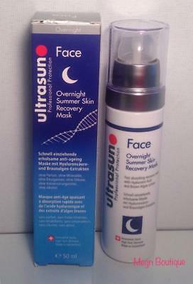 Ultrasun - (Face) Overnight Summer Skin Recovery Mask 50ml (Brand New& Selaed)