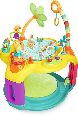 Bright Starts Bounce-A-Round Activity Saucer - Springin Safari