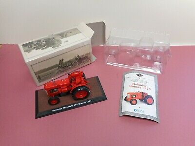 Atlas Diecast Tractor Bollinder Munktell 1:32 Boxed Certificate New Condition