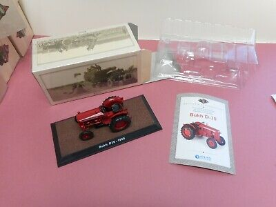 Atlas Diecast Tractor Bukh D - 30 1:32 Boxed Certificate New Condition