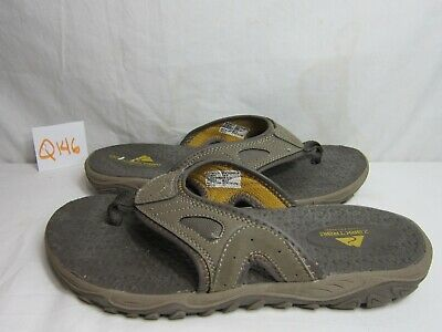 c44c4ef1f21b Men s Ozark Trail Taupe Pebble Rugged Thong Sandals - Beach - Mountain Size  8