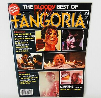 The Bloody Best Of Fangoria Volume 1 Horror Magazine 1982