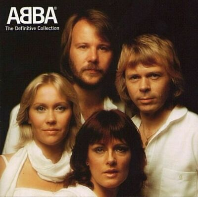 2 Cd Set Abba The Definitive Collection Brand New Sealed Greatest Hits