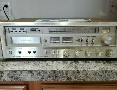 Pioneer Centrex Stereo Receiver with 8 track Player Recorder AM/FM Model RH 626