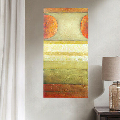 Hand Painted Modern Abstract Oil Painting Wall Art Home Decor Stretched Canvas