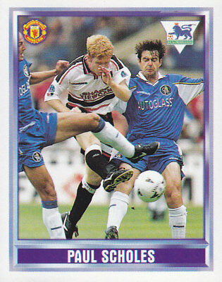 #248 Merlin Premier League 98-Paul Scholes, Manchester United