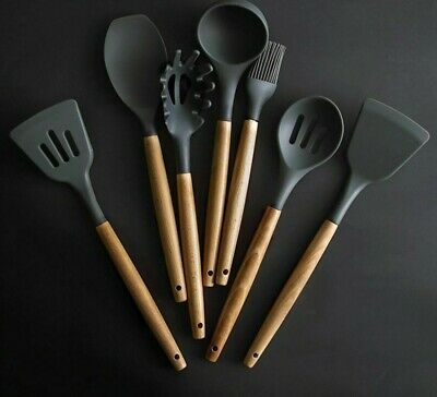 Silicone Spatula Heat-resistant Soup Spoon Non-stick Special Cooking Shovel BL3