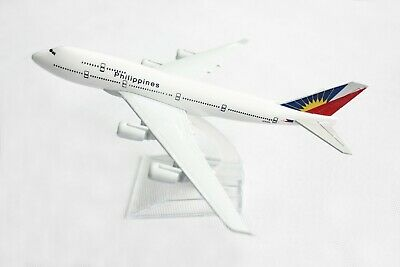 14cm Philippine Air Airlines Model Airplane Diecast Metal Plane Toy
