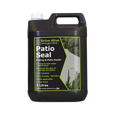Bond It Path & Patio Seal 5L Paving 5 Block Paving 5 Litre Water Seal Sealer