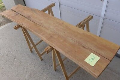 "#260 Alter Holzpfosten Holzbohlen 160cm ""Buche"" Altholz, Holzbrett, Bar, Regal"