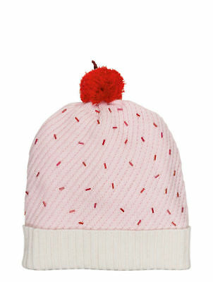 da4b757093f2 KATE SPADE New York CUPCAKE CUFF HAT with POM Pastry Pink NWT ($72) Great