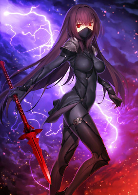 [JP] Fate Grand Order FGO Scathach + 0-100SQ starter account