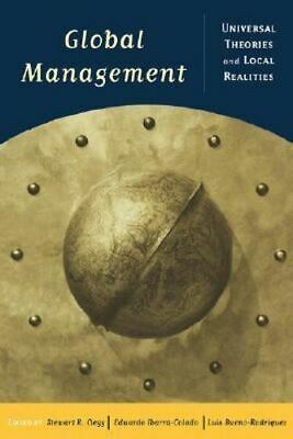 NEW Global Management By Stewart R. Clegg Paperback Free Shipping