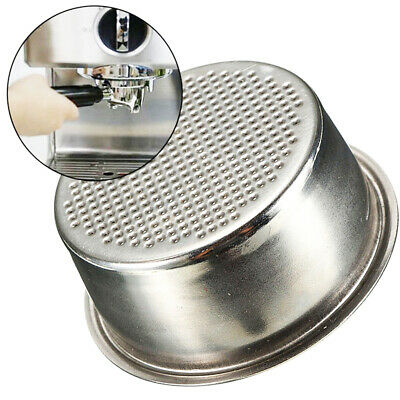 51mm Stainless Steel Coffee 2 Cup Filter Basket Non Pressurized For Breville Del