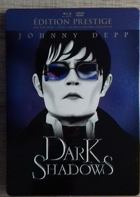 Blu Ray Dark Shadows EDITION STEELBOOK COLLECTOR fr