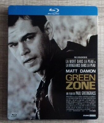 Blu ray Green Zone EDITION STEELBOOK COLLECTOR fr