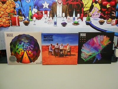 MUSE CD's x 3