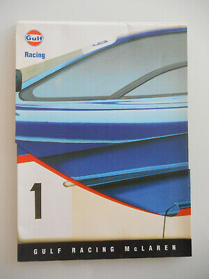 GULF Racing McLaren F1 F 1 GTR Press kit Pressemappe 1995