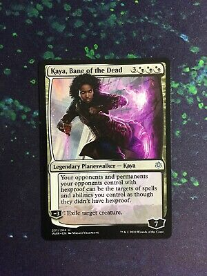 x2 MTG Magic WAR - French//VF Bane of the Dead//Kaya fléau des morts Kaya