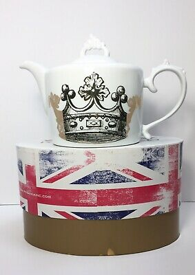 Mid Century Modern Style King's Road Redux Baroque Teapot Rosanna Collectible