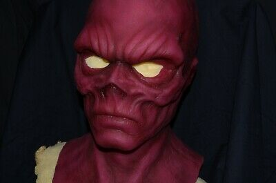 Red Skull silicone mask
