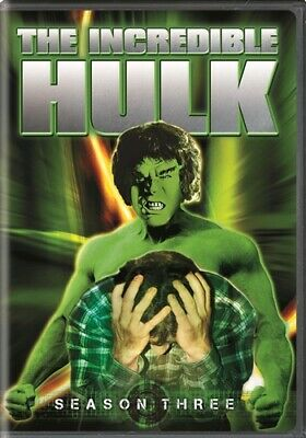 THE INCREDIBLE HULK SEASON THREE 3 New Sealed 5 DVD Set