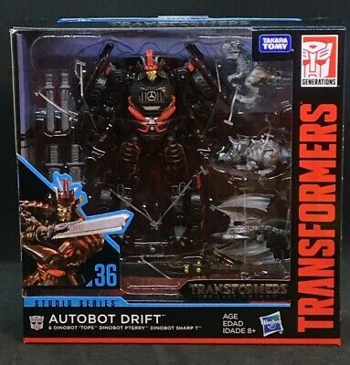 Hasbro Transformers Studio Series Deluxe Drift with Baby Dinobots Exclusive