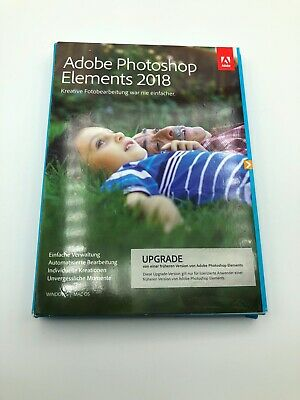 Adobe Photoshop Elements 2018 Upgrade