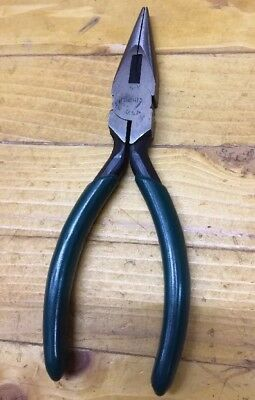 "SK ToolsChain Nose Pliers with Cutter 5"" (16415) USA - Great - Free Shipping"