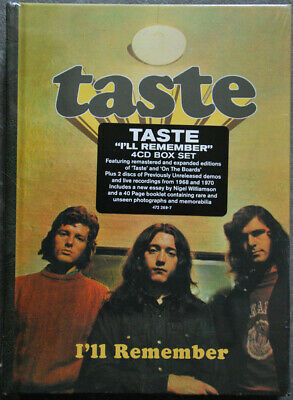 CD-BOX Taste Ill Remember DIGIBOOK Polydor