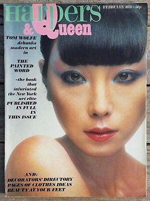 HARPERS & QUEEN Magazine February 1976 Vintage