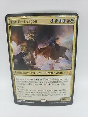 FOIL The Ur-Dragon ~ Commander 2017 ~ MINT//NearMint ~ Magic The Gathering
