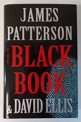 """""""The Black Book"""" by James Patterson & David Ellis (Hardcover-2017)-First Edition"""