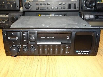 Blaupunkt Boston  CC22 Vintage 90s Cassette Car Stereo Warranty Aux-in Mercedes