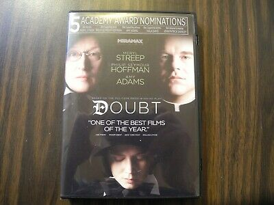 Doubt-5 Academy Award Nomination-6 Critics Choice Awards (DVD, 2009, Widescreen)