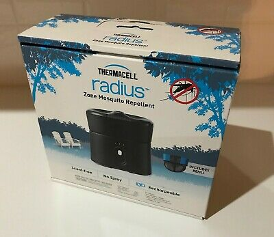 Thermacell Radius Zone Mosquito Repellent, Rechargeable, Includes Refill