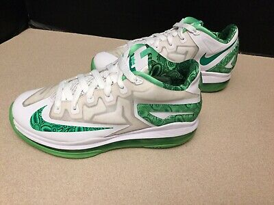 "best service 4e787 1bd5a Youth Boys Nike Air Max Lebron XI 11 Low ""Easter"" GS Shoes. Size"