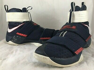 c8ec2705d0e Mens NIKE LEBRON SOLDIER X 10 SFG USA Olympics Basketball Shoes 844378-416  SZ 9