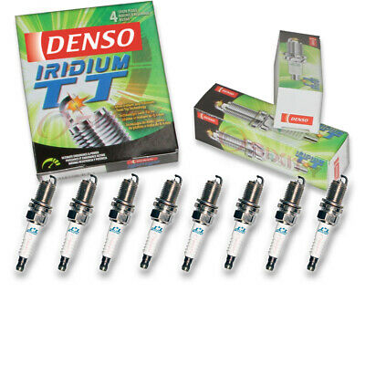 8 pc Denso Iridium TT Spark Plugs for Mercedes-Benz 500SL 5.0L V8 1990-1993 ry