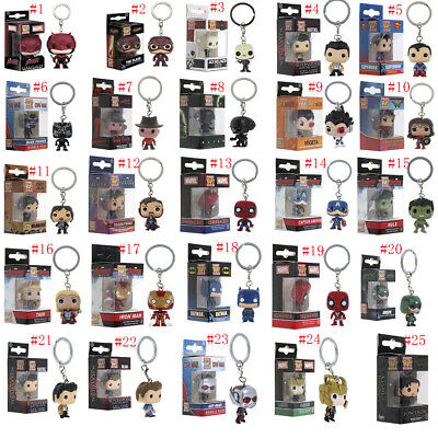 Keychain Funko Pocket Pop! Vinyl Figure Keyring Collectible Toy Gift In Box