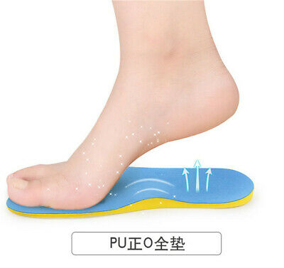 Flat Foot Arch Support Pads Correctional Foot Care Orthopedic Insoles LG