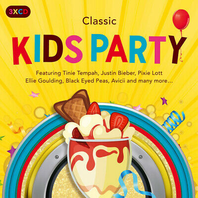 Various Artists : Classic Kids Party CD 3 discs (2017) FREE Shipping, Save £s