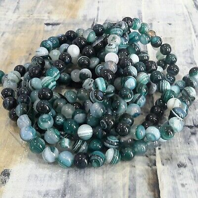 Natural Turquoise 8mm 47pce Strand Oz Seller Free postage