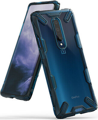 OnePlus 7 Pro Case, Ringke [Fusion-X] Clear PC Back TPU Bumper Drop Protection